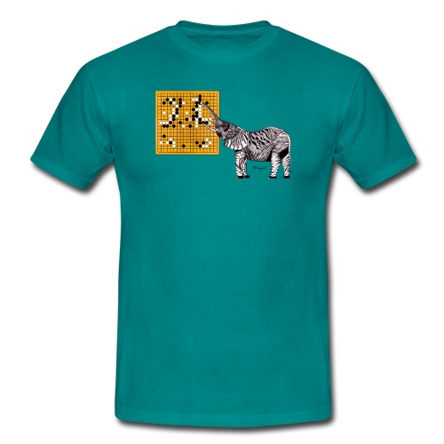 AlphaGo versus Lee Sedol - Men's T-Shirt