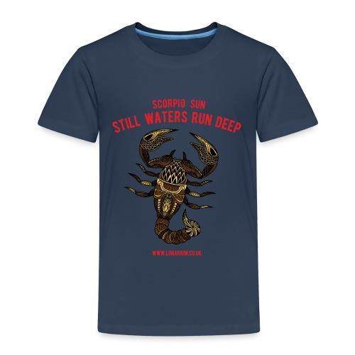 Scorpio Sun Kids' Premium T-Shirt - Kids' Premium T-Shirt