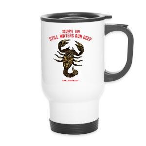 Scorpio Sun Travel Mug - Travel Mug