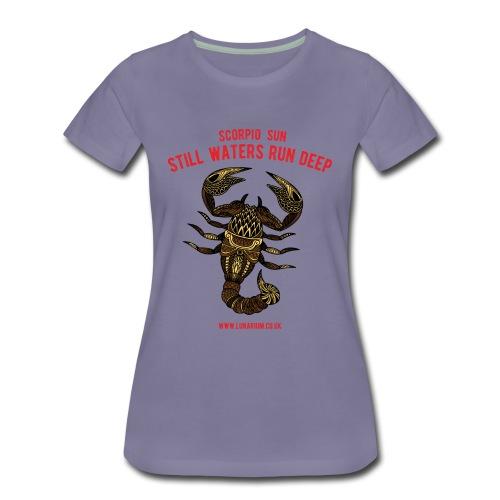 Scorpio Sun Women's Premium T-Shirt - Women's Premium T-Shirt