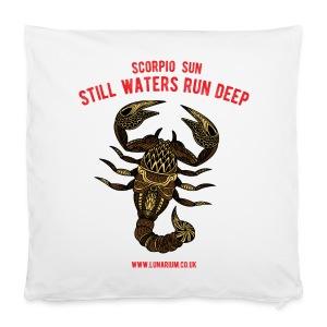 Scorpio Sun Pillowcase 40 x 40 cm - Pillowcase 40 x 40 cm