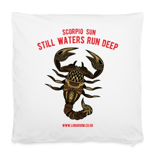 Scorpio Sun Pillowcase 40 x 40 cm - Pillowcase 40 x 40 cm
