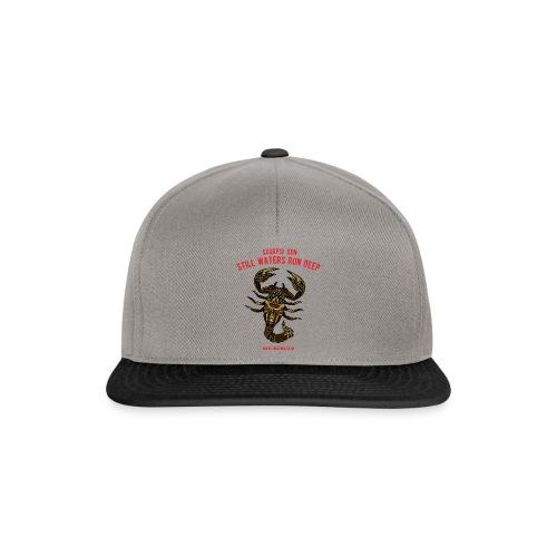 Scorpio Sun Snapback Cap - Snapback Cap
