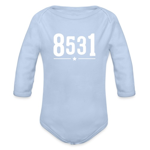 8531 - Baby Romper - Baby bio-rompertje met lange mouwen