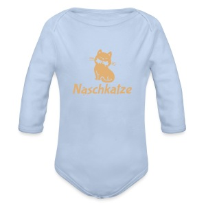 Baby Body Naschkatze - Baby Bio-Langarm-Body