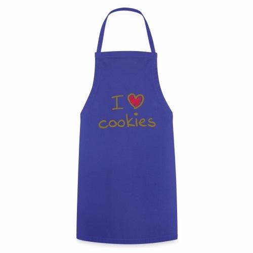 I Love Cookies - Kochschürze