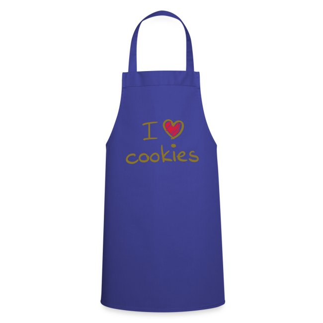 Kochschürze I Love Cookies