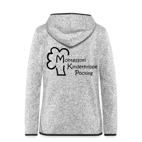 Montessori Jacke 2017 - Frauen Kapuzen-Fleecejacke