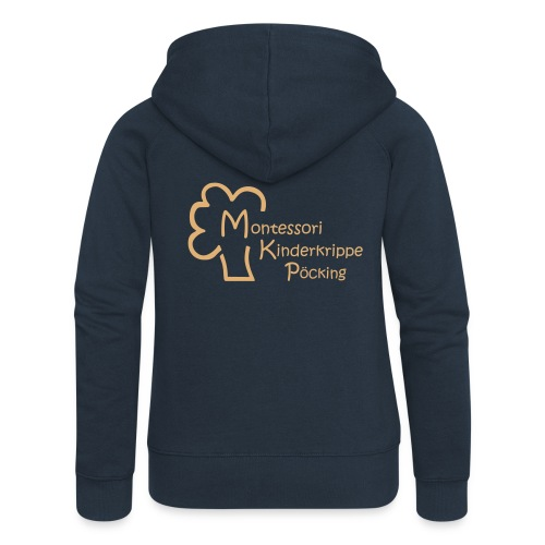 Montessori Jacke 2017 - Frauen Premium Kapuzenjacke