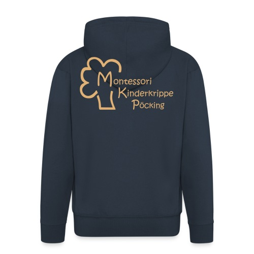 Montessori Jacke 2017 - Männer Premium Kapuzenjacke