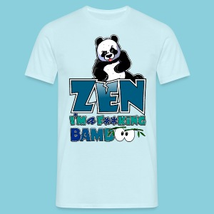 Men's T-Shirt Bad panda, be zen or not - Men's T-Shirt