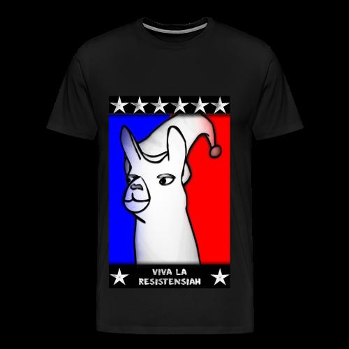 Camiseta hombre Viva la resistensiah (Todas las tallas) - Camiseta premium hombre