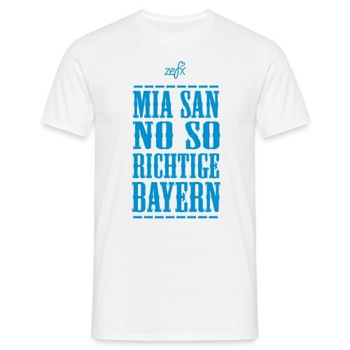#MiasannosorichtigeBayern - Männer T-Shirt