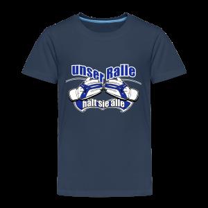 Kinder Premium T-Shirt Ralle hält sie alle - navi - Kinder Premium T-Shirt
