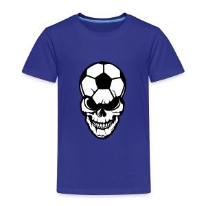 tete de mort football - T-shirt Premium Enfant