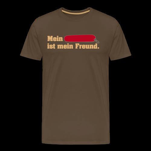 Taschenmesser Freund Vorne für Männer - Männer Premium T-Shirt