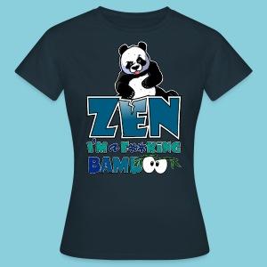 Women's T-Shirt Bad panda, be zen or not - Women's T-Shirt