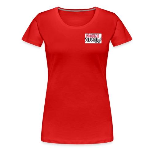 T-Shirt Damen rot - Frauen Premium T-Shirt