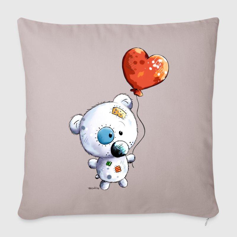 Copricuscino per divano con orsacchiotto con palloncino - Copricuscino divano ...