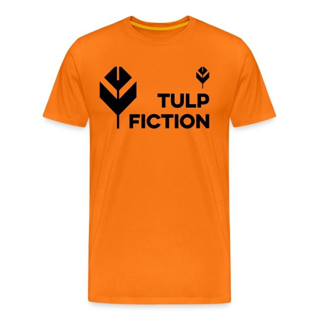 Mannen Koningsdagshirt Tulp Fiction