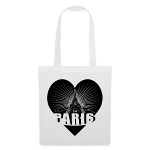 Paris in Love - Stoffbeutel