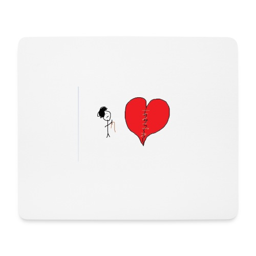 Mouse Pad (horizontal) : white - Mouse Pad (horizontal)