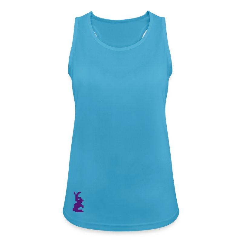 rabbit retro pixel - Frauen Tank Top atmungsaktiv