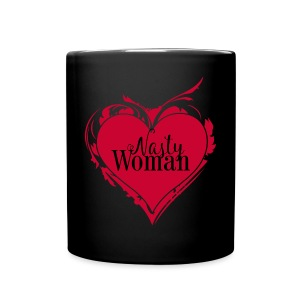 Nasty Woman ART Heart - Tasse einfarbig