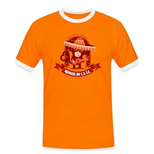 Mensuel Cute Luxe (M) - T-shirt contrasté Homme