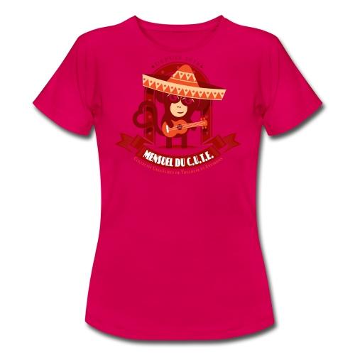Mensuel Cute (F) - T-shirt Femme