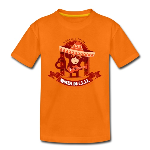 Mensuel Cute (E) - T-shirt Premium Enfant