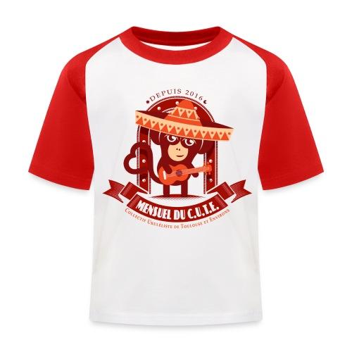 Mensuel Cute Luxe (E) - T-shirt baseball Enfant