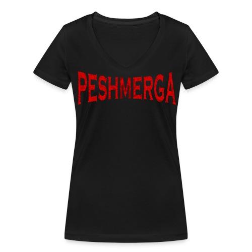Peshmerga T-Shirt - Frauen Bio-T-Shirt mit V-Ausschnitt von Stanley & Stella