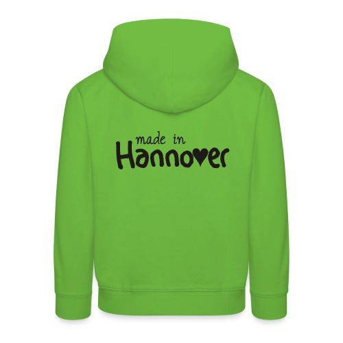 Kapuzenpullover Kinder made in Hannover - Kinder Premium Hoodie