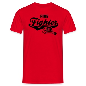 Fire Fighter - Männer T-Shirt