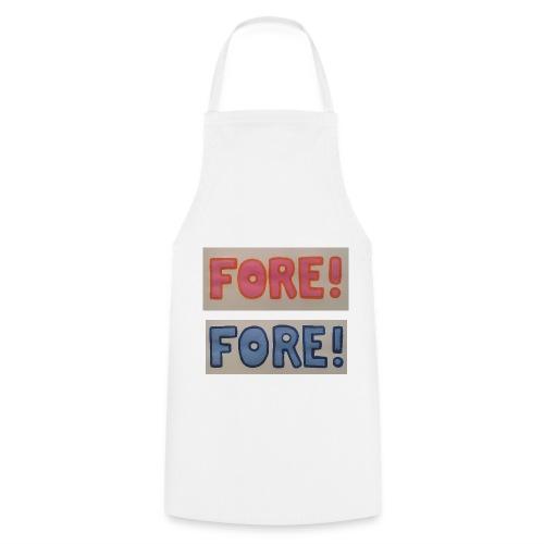 FORE Schürze für die gemeinsame FORE Jause - Kochschürze