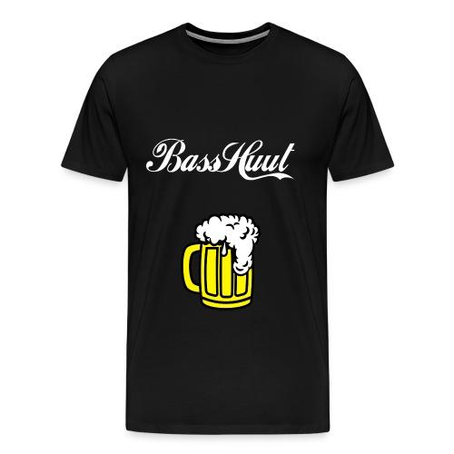 BassHuut Bier - Männer Premium T-Shirt