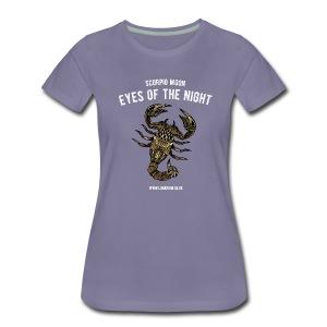 Scorpio Moon Women's Premium T-Shirt - Women's Premium T-Shirt