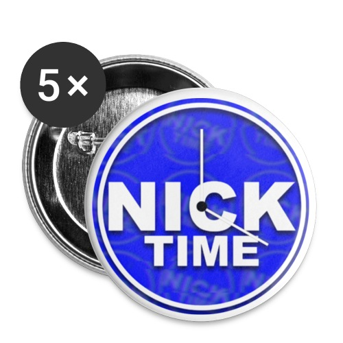 NickTime badges - Buttons middel 32 mm