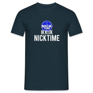 NickTime t-shirtl (M) (versie 2) - Mannen T-shirt