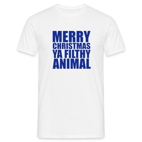 Merry Christmas Ya Filthy Animal - Men's T-Shirt