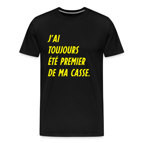 Teesh Premier de casse noir - T-shirt Premium Homme