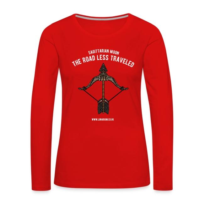 Sagittarius Moon Women's Premium Longsleeve Shirt