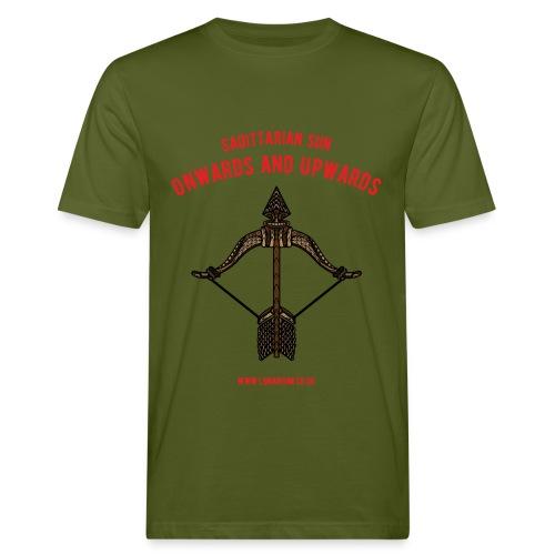 Sagittarius Sun Men's Organic T-shirt - Men's Organic T-shirt