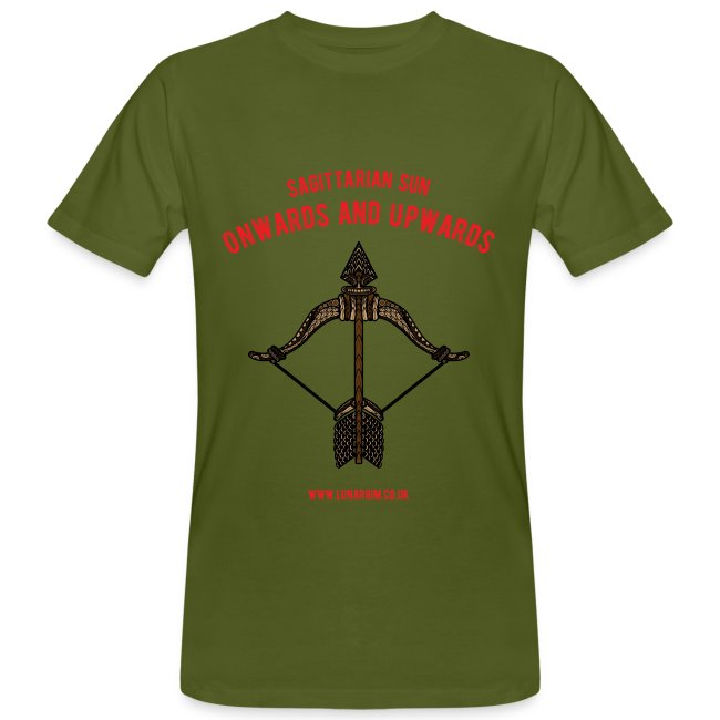 Sagittarius Sun Men's Organic T-shirt