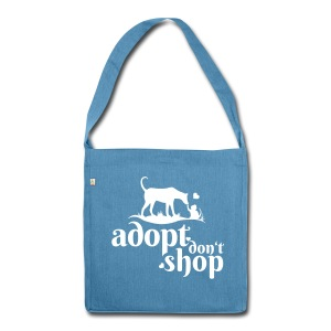 Adopt don't Shop! RECYCLING-Bag - Schultertasche aus Recycling-Material