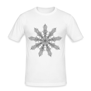 Magic Star Tribal #4 - Men's Slim Fit T-Shirt