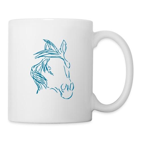 Dreamhorse, Becher ( Print:Petrol) - Tasse