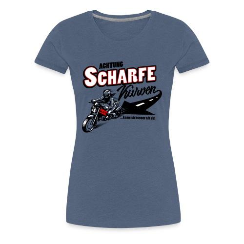 Scharfe Kurven - Frauen Premium T-Shirt