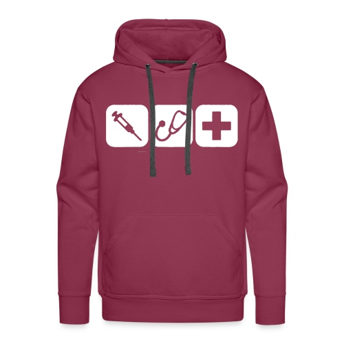 Sweatshirt Spritze - Männer Premium Hoodie